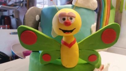 Vlinder van Baby tv