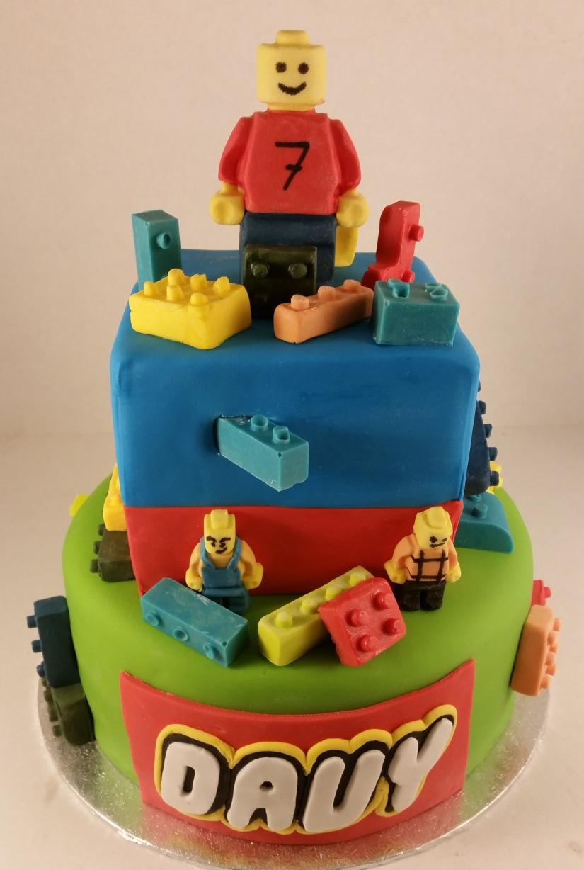 Lego poppetjes en lego blokjes