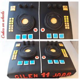 DJ taart
