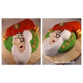 3d Kabouter taart