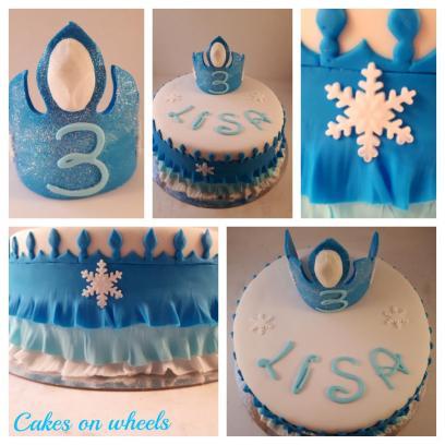 Elsa thema taart
