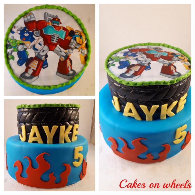 Taart voor Jayke