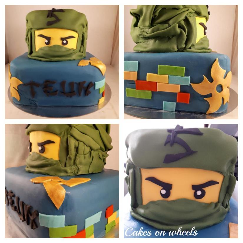 Ninja taart voor Teun