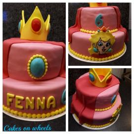 verjaardagstaart voor Fenna