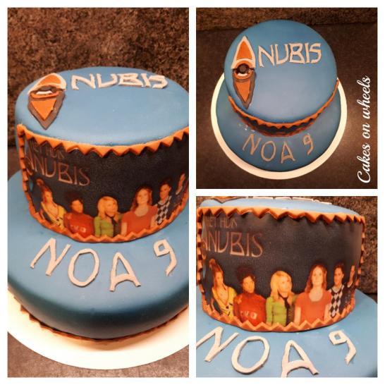 Anubis taart