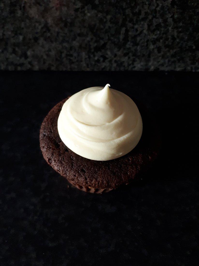 Dubbel chocolade Cupcakes