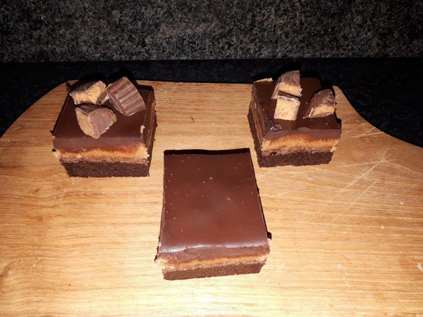 Pindakaas koekiedeeg Brownie.