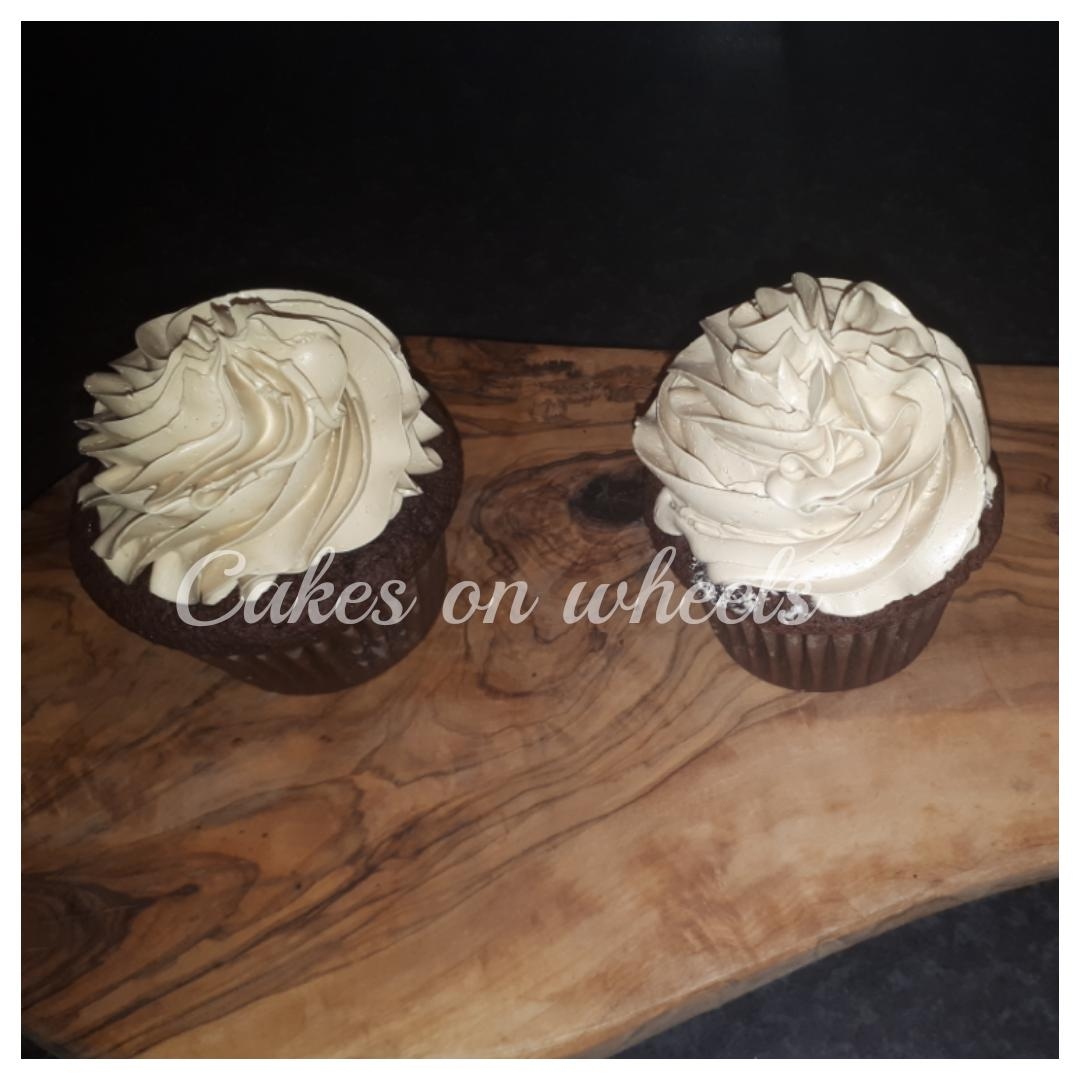 Mokka choco cupcakes