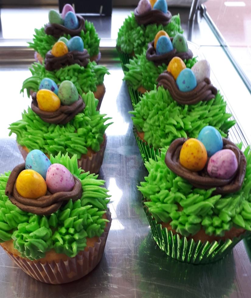 Lente Cupcakes