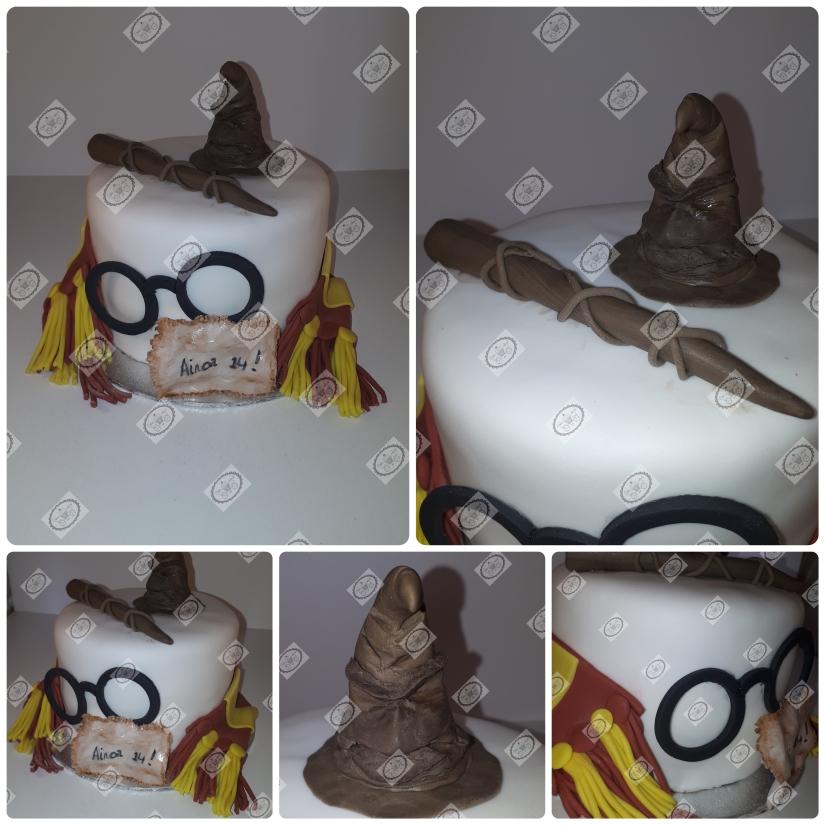 Harry Potter taart