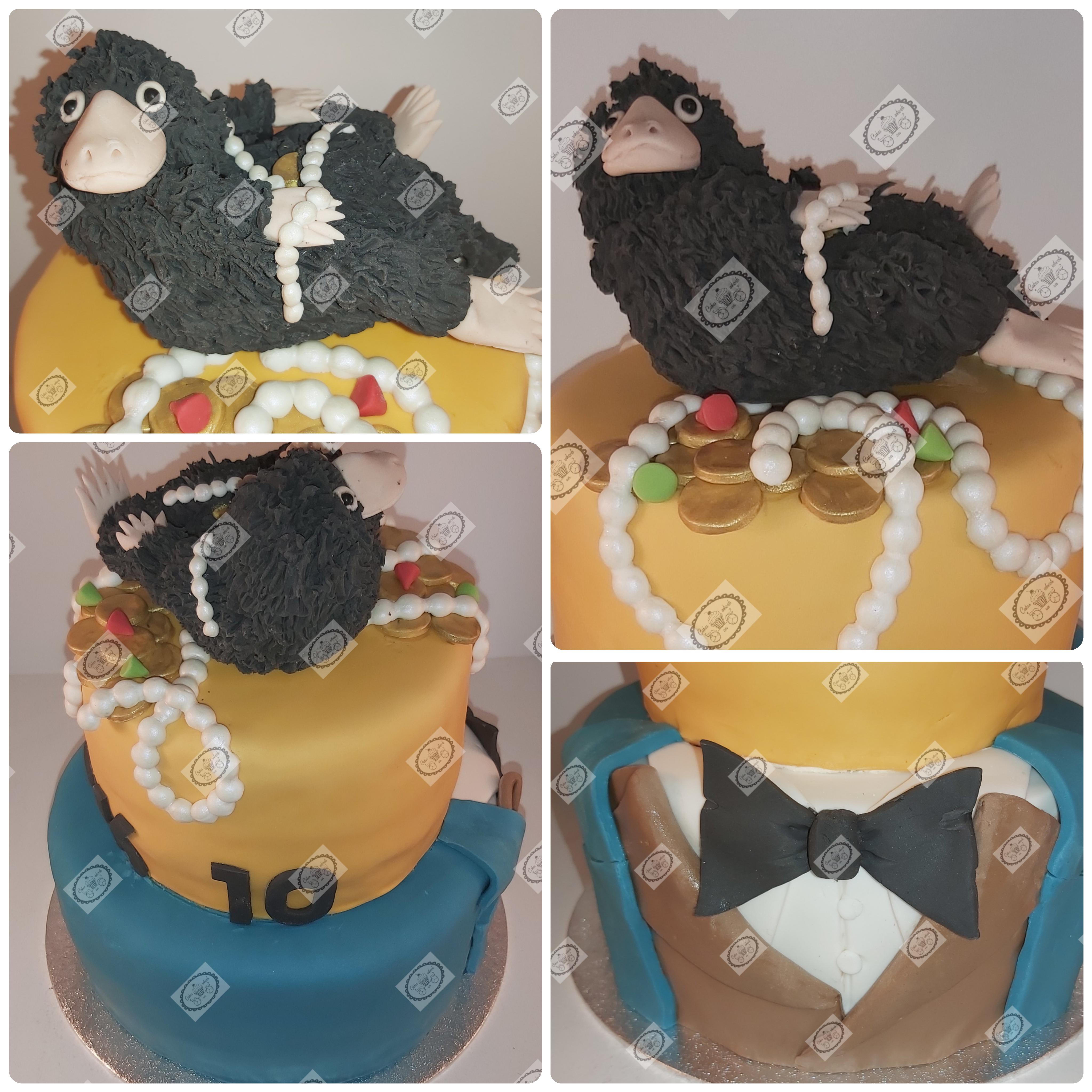 Fantastic beasts taart