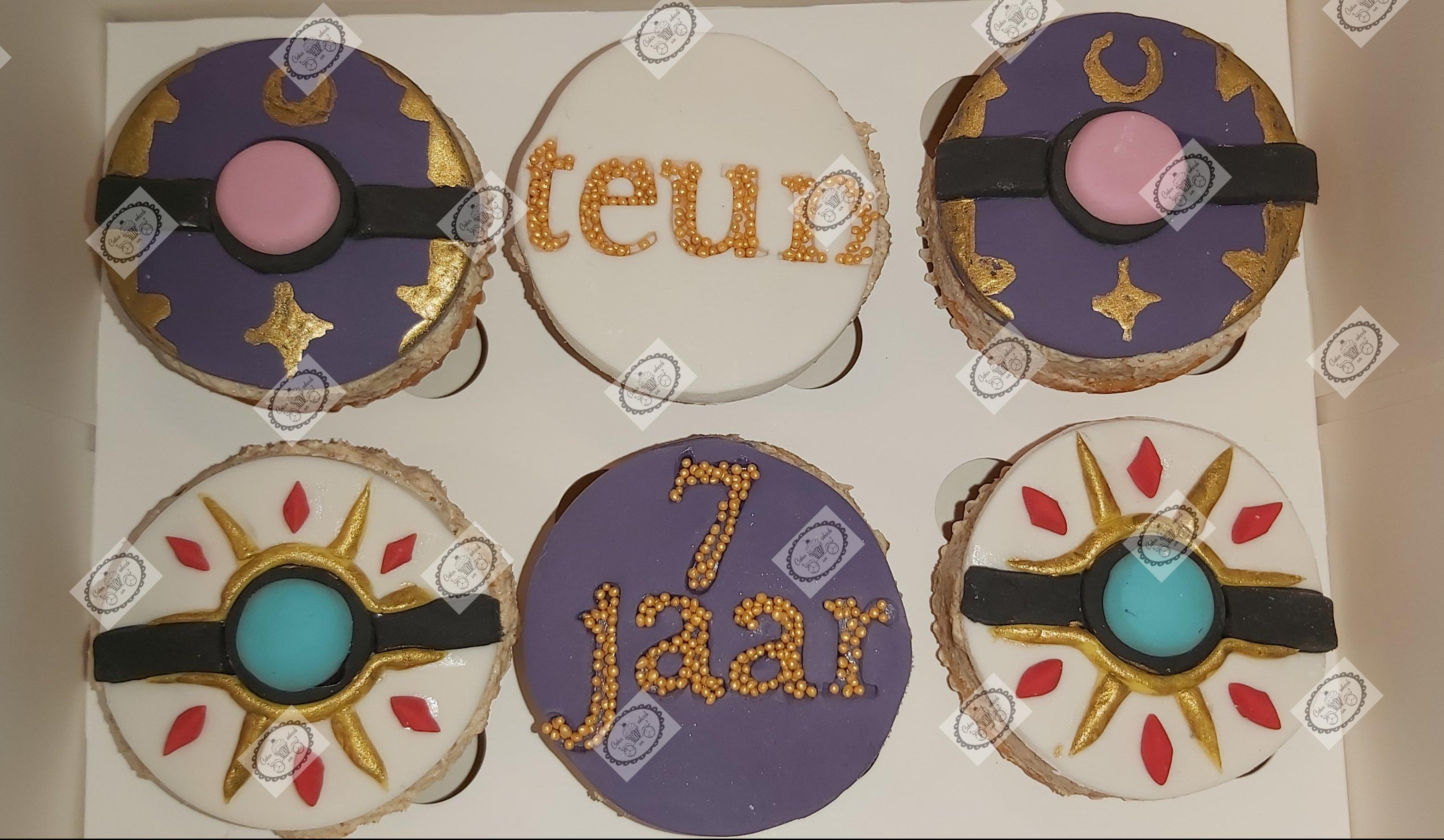 Cupcakes Pokèmon