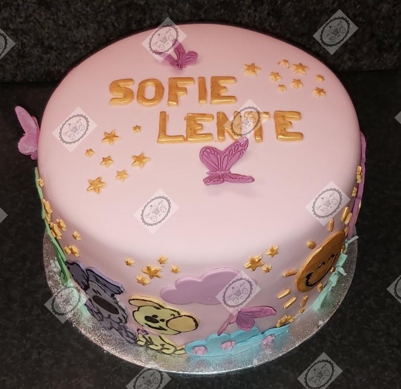 Een herdenkingstaart voor Sofie Lente