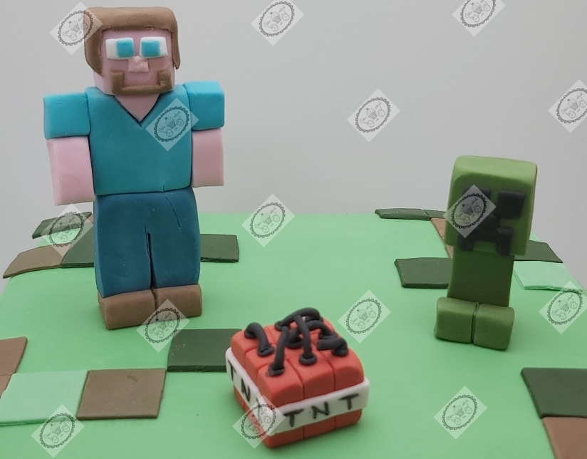Minecraft caketoppers