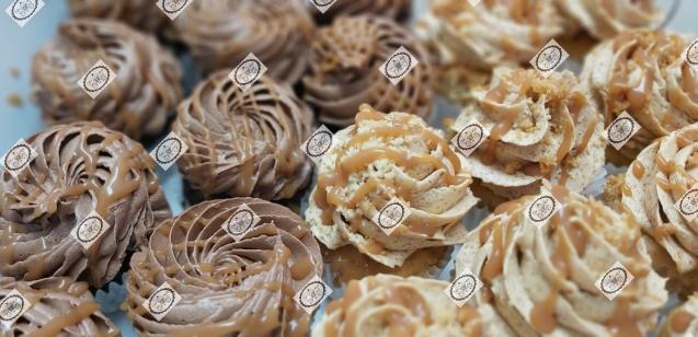 Choco-karamel & Appeltaart mini cupcakes