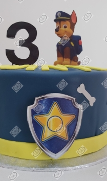 Chase taart (Paw patrol)